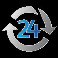 Логотип компании «B24Online.com»