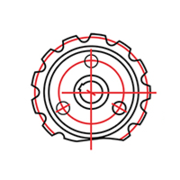 Логотип компании «УфаДорМаш»