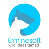 Логотип компании «Erminesoft»