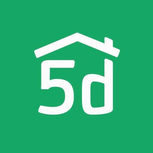 Логотип компании «Planner 5D»