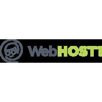 Логотип компании «WebHOST1»