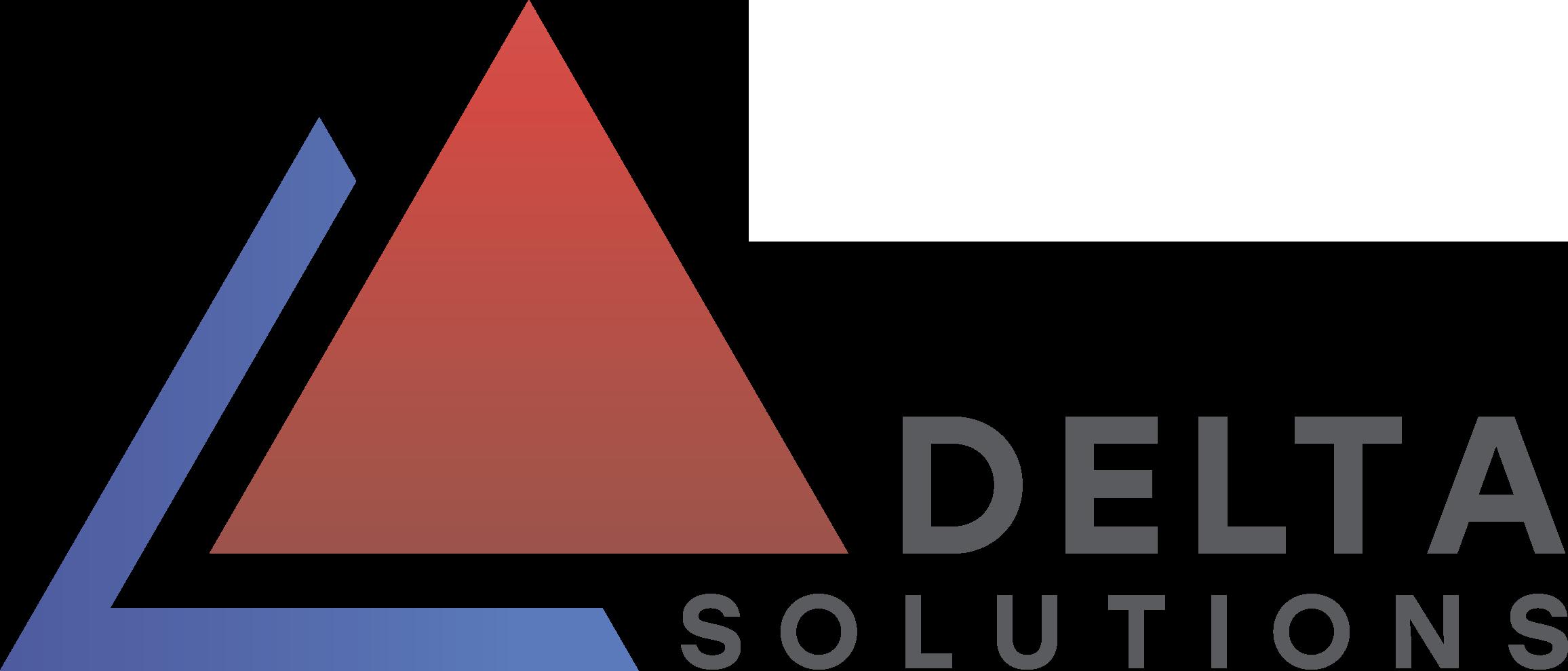 Логотип компании «Delta Solutions»