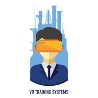 Логотип компании «VR Training Systems»