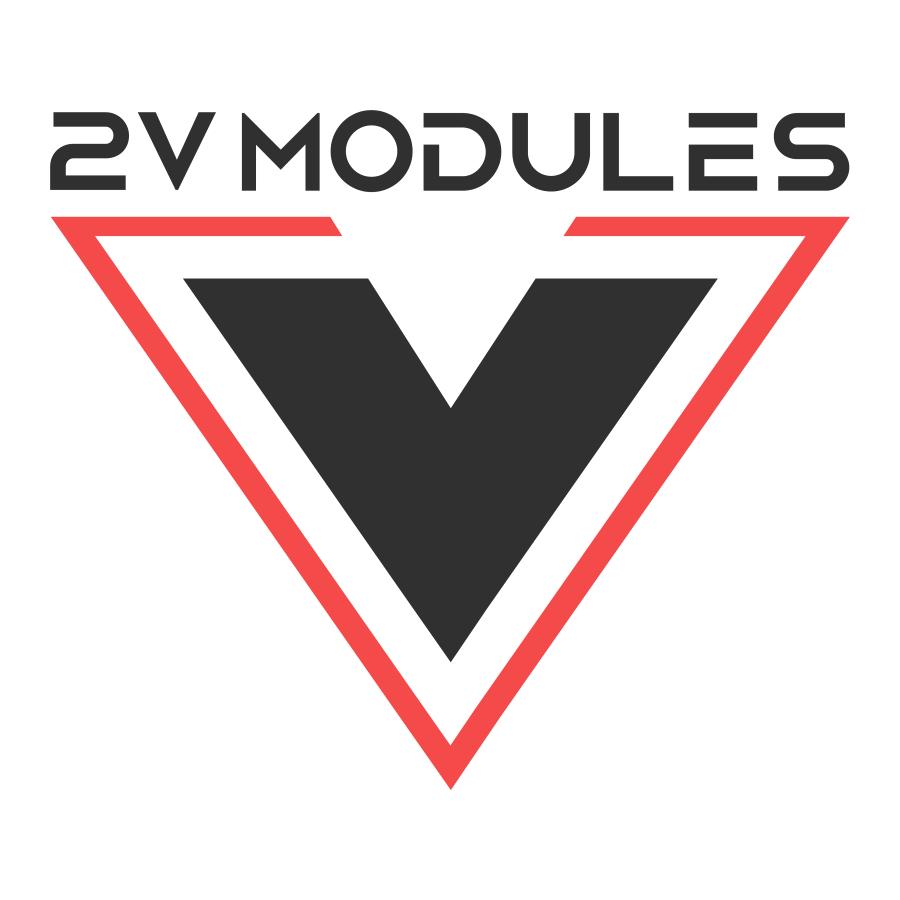 Логотип компании «2V Modules»
