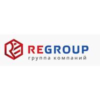 Логотип компании «RE GROUP»