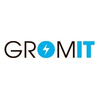 Логотип компании «GROM-IT»
