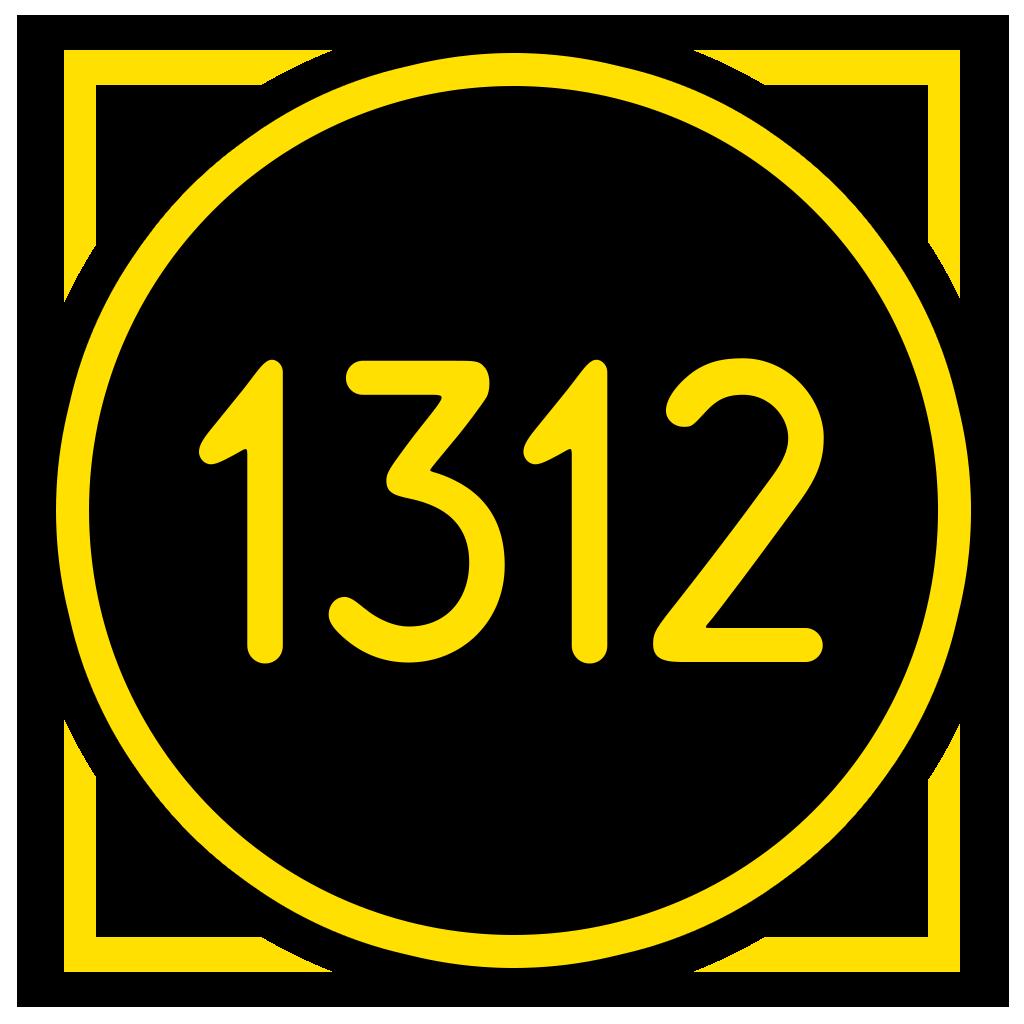 Логотип компании «1312 Inc.»
