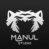 Логотип компании «Manul Studio»