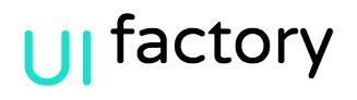 Логотип компании «UI factory»