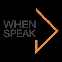 Логотип компании «WhenSpeak»