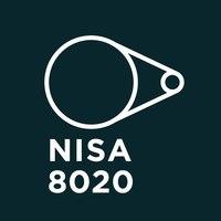 Логотип компании «NISA 8020»