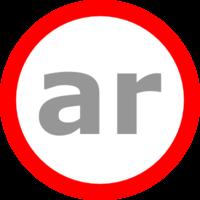 Логотип компании «ar-lab»