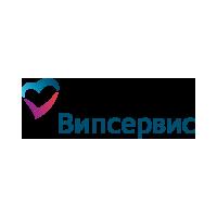 """Логотип компании «""""В.И.П. Сервис""""/ """"V.I.P. Сервис""""»"""