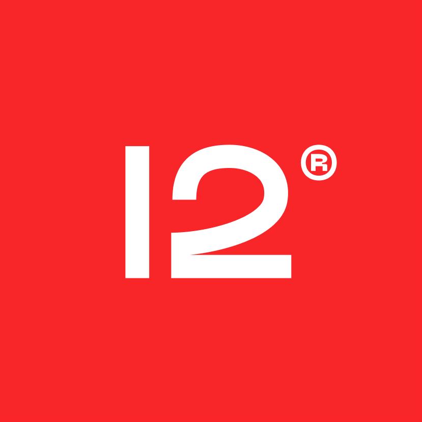Логотип компании «FLAT12»