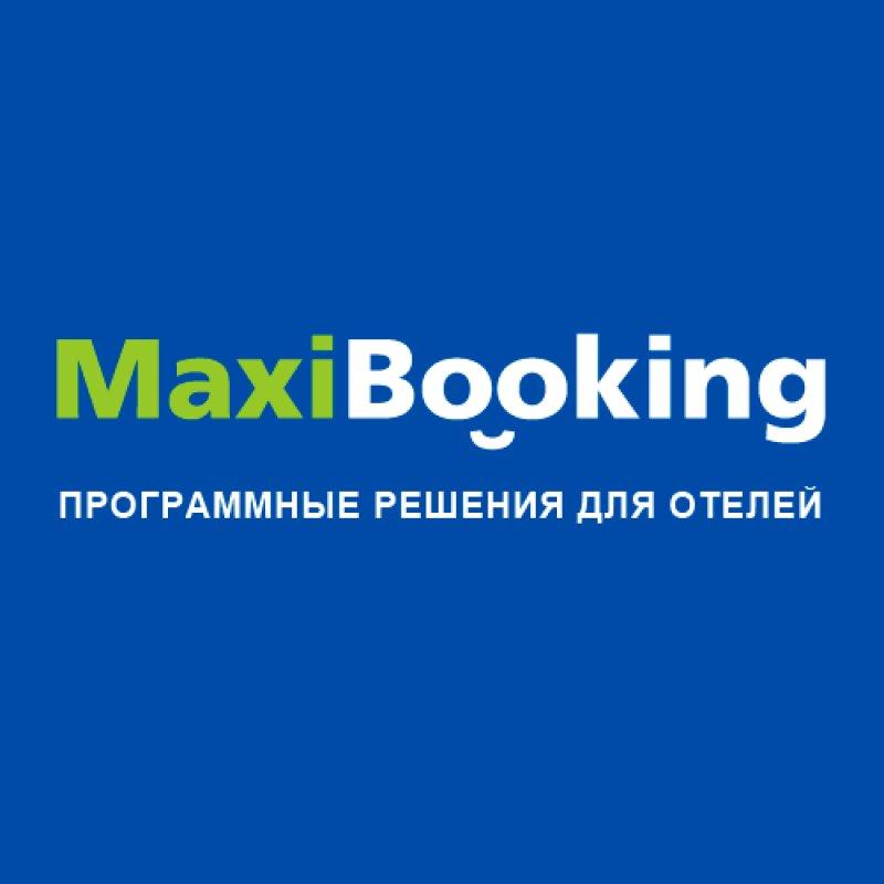 Логотип компании «MaxiBooking»