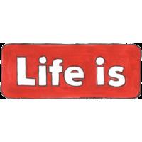 Логотип компании «Лайф из»