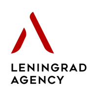 Логотип компании «Leningrad Media»