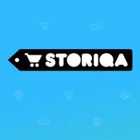 Логотип компании «STORIQA LTD»