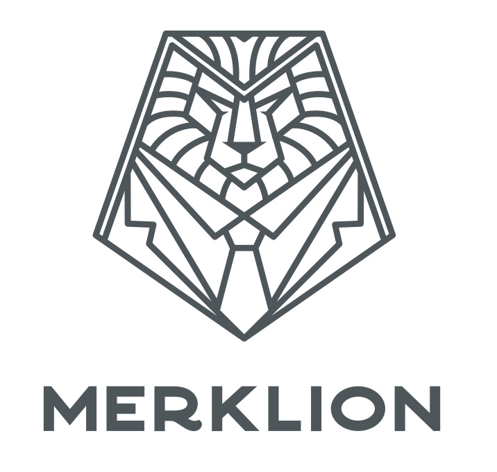 Логотип компании «Merklion»