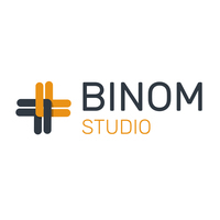 Логотип компании «Binom Studio»