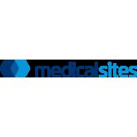 Логотип компании «MedicalSites»