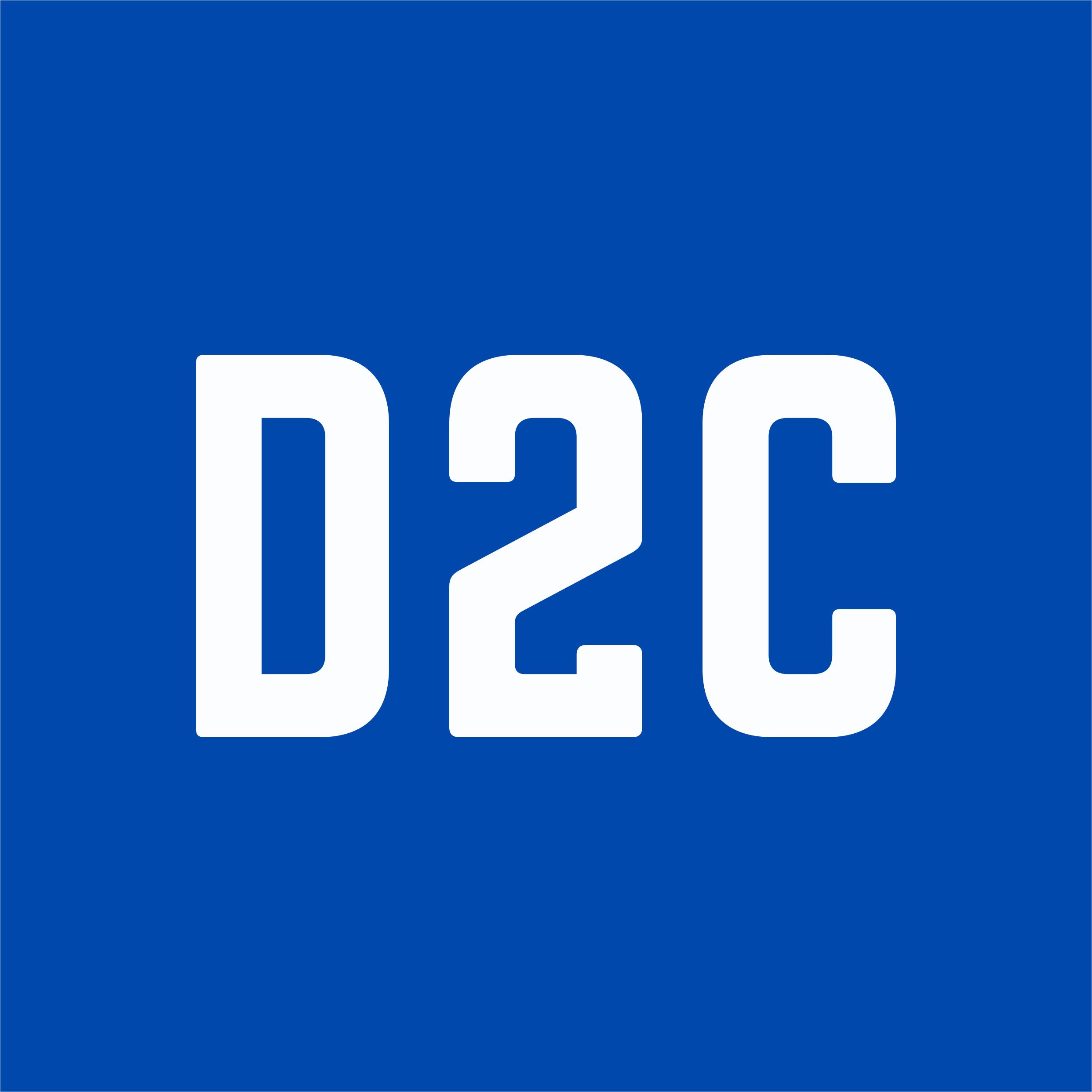 Логотип компании «D2C.io»