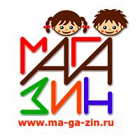 Логотип компании «МА-ГА-ЗИН»