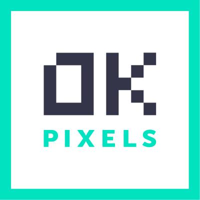 Логотип компании «OKPixels»