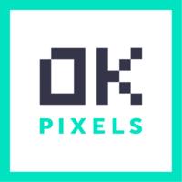 Логотип компании «OK Pixels»