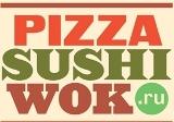 Логотип компании «Pizza Sushi Wok»