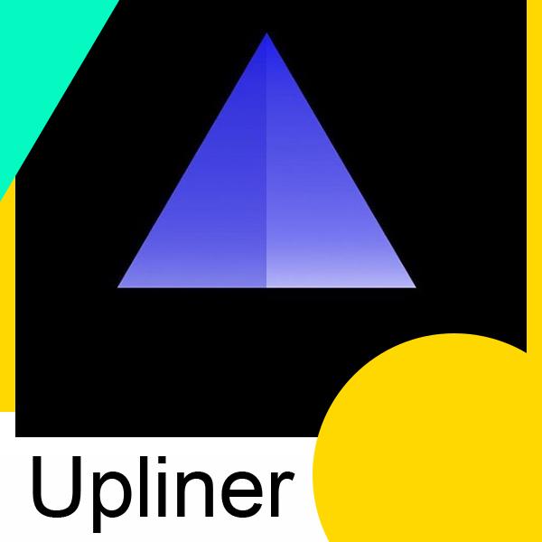 Логотип компании «Upliner media»