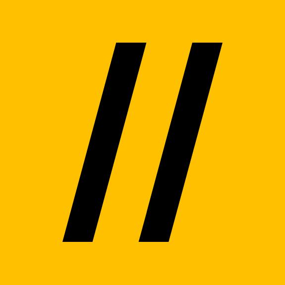 Логотип компании «We//Yes»
