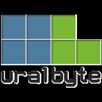 Логотип компании «УралБайт»