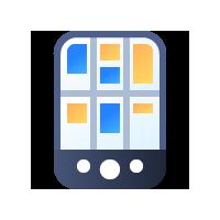 Логотип компании «PDApps»