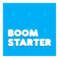 Логотип компании «Boomstarter»