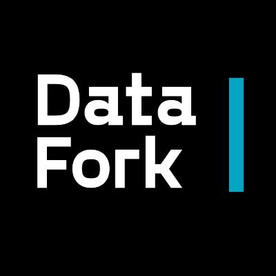Логотип компании «DataFork»