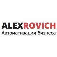 Логотип компании «ALEXROVICH»
