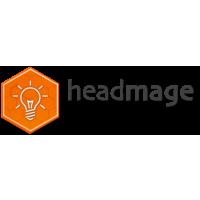Логотип компании «Headmage»