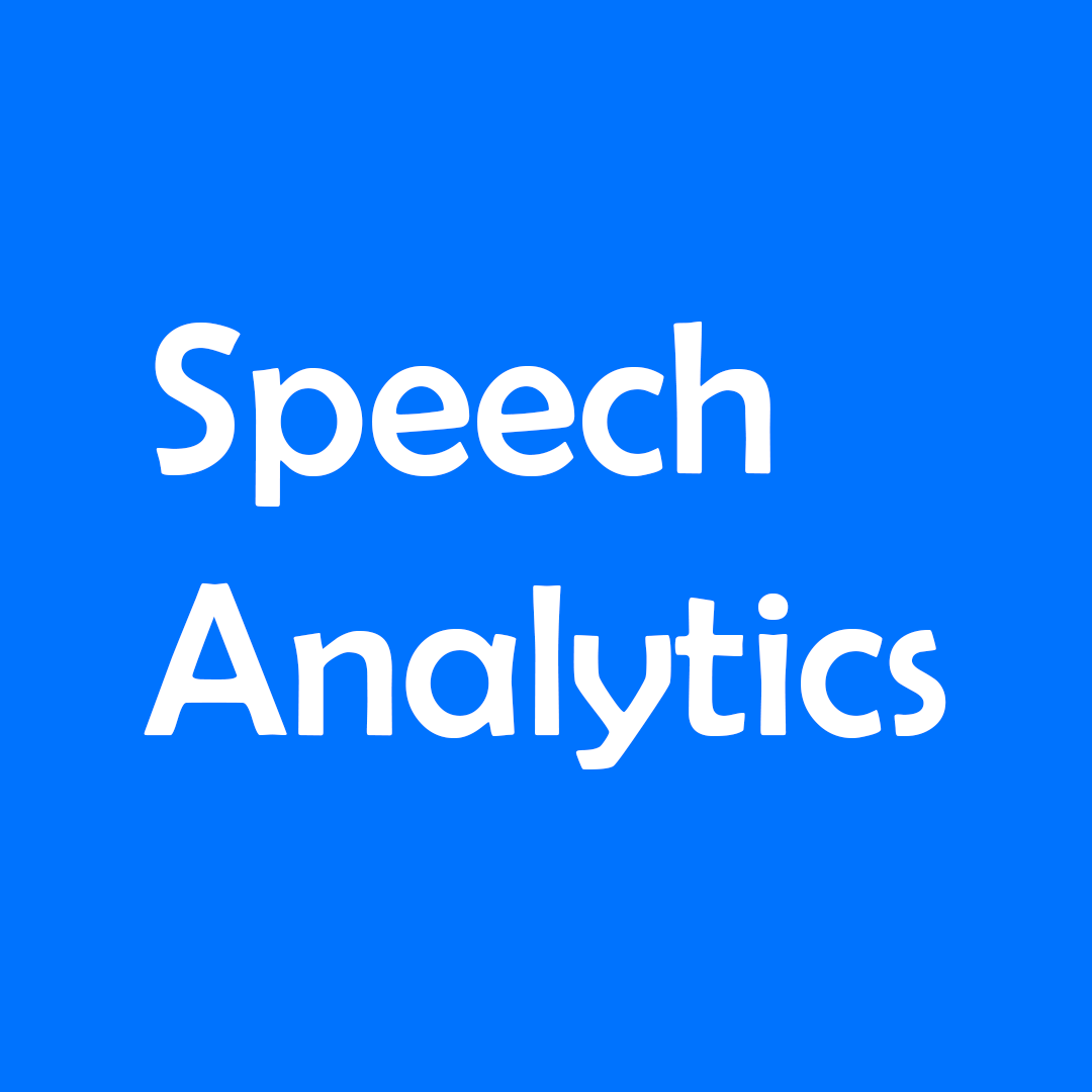 Логотип компании «Speech Analytics»