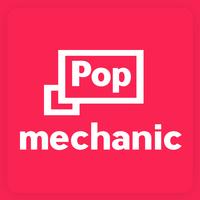 Логотип компании «Popmechanic»