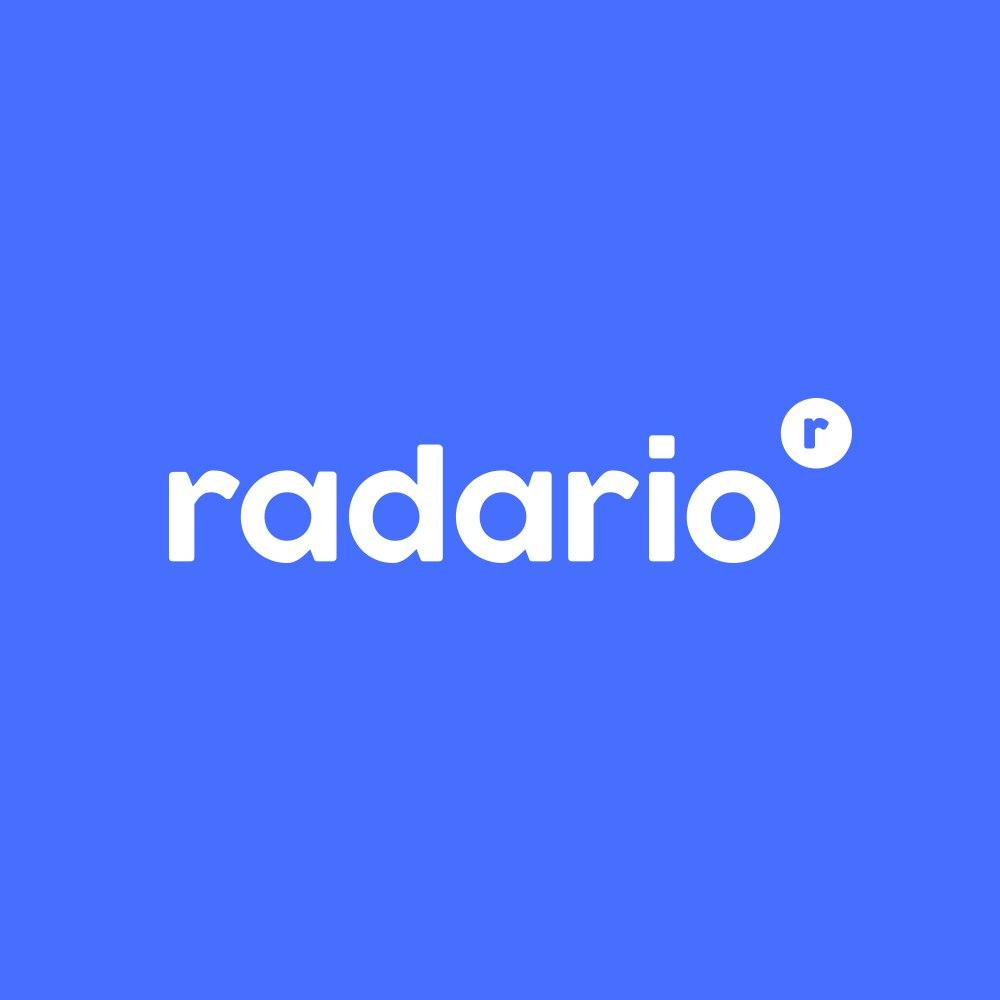 Логотип компании «Radario»