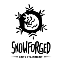 Логотип компании «Snowforged entertainment»