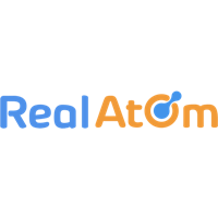 Логотип компании «RealAtom»