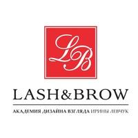 Логотип компании «Lash&Brow»