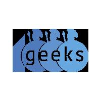 Логотип компании «1000geeks»