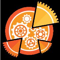 Логотип компании «Mechanical Pie Studio»