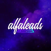 Логотип компании «Alfaleads»