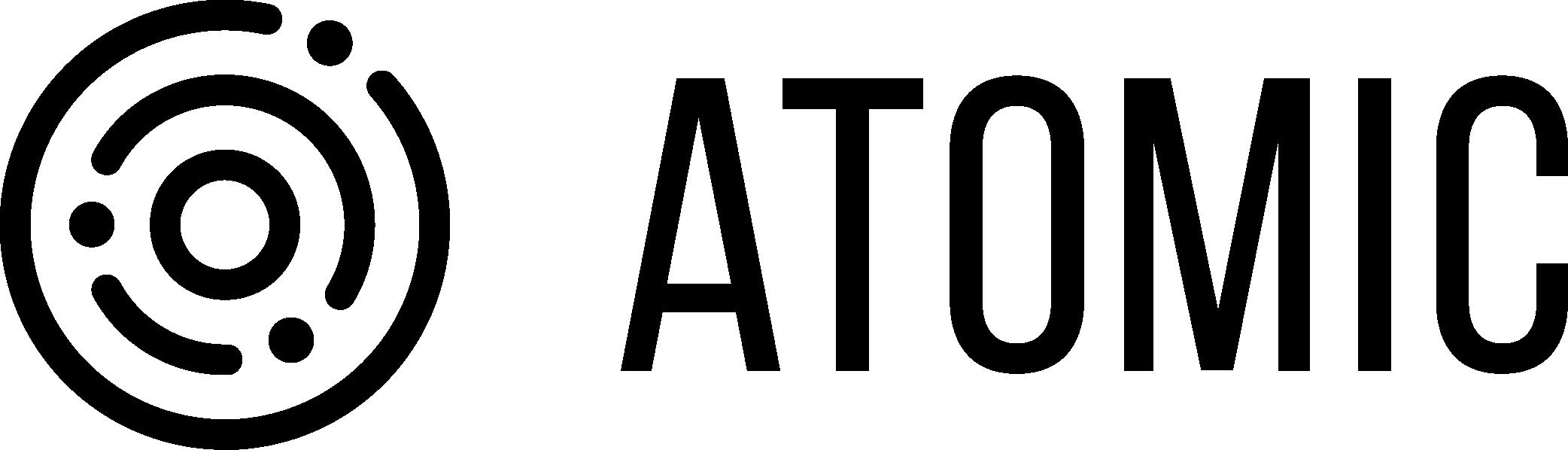 Логотип компании «Atomic»
