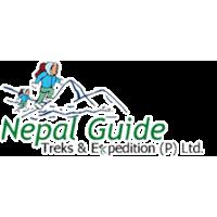 Логотип компании «Nepal Guide Treks and Expedition»