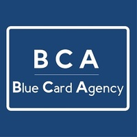 Логотип компании «Blue Card Agency»